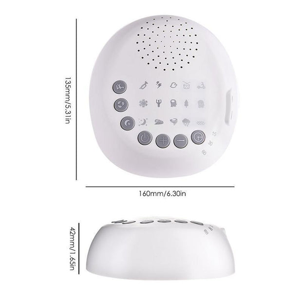White Noise Machine For Baby Sleeping & Relaxation
