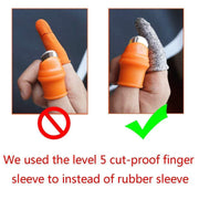Finger Protector Gloves Thumb Knife