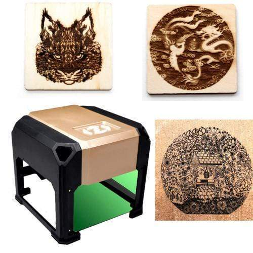 Laser Engraving Machine for Etching Metal, 3D, Wood & More