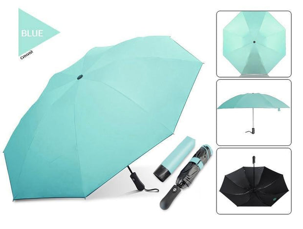 Bodyguard Inverted Umbrella - Windproof Umbrella - Reverse Umbrella