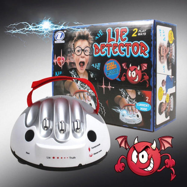 Lie Detector Device Funny Polygraph Shocking Liar Detector Game