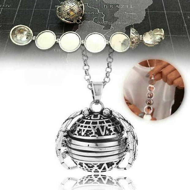 Expanding Photo Locket Photo Pendant