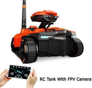 RC Tank with Real-Time Video HD Camera