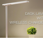 LED Table Lamp w/ Wireless Charger