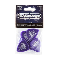 Dunlop 41P Delrin 500 Guitar Pick 2.0mm (12 Pack)