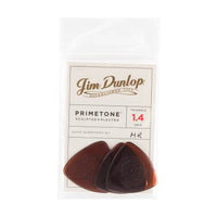 Dunlop 512P Primetone Triangle Guitar Pick W/Grip 1.40mm (3 Pack)