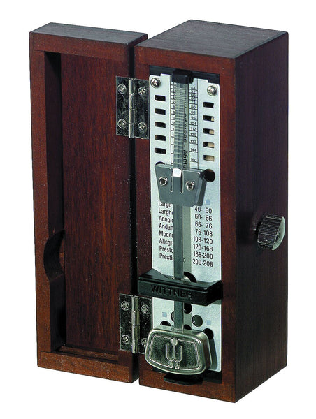 Wittner 880210 Taktel Super Mini. Wood Case Mahogany Bell