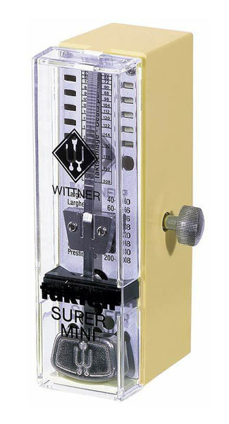Wittner 882051 Taktell Super-Mini Series. Plastic Casing Ivory No Bell