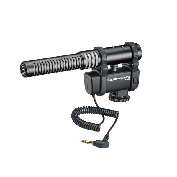 Audio-Technica AT8024 Stereo/Mono Camera Mount Microphone