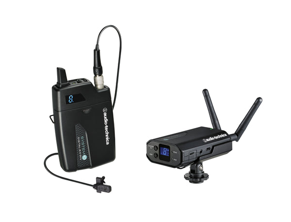 Audio-Technica ATW-170IL Camera Mounted Wireless Lavalier Microphone