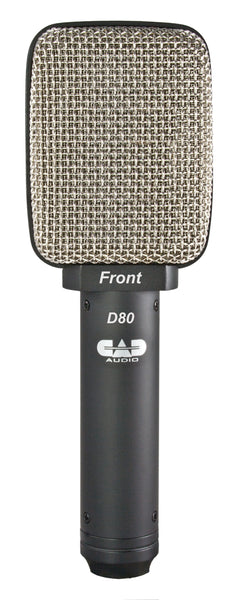 CAD Audio D80 Side Address Dynamic Cabinet/Percussion Microphone