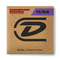 Dunlop DAP1142 Phosphor Bronze Acoustic Guitar Strings. 11-52
