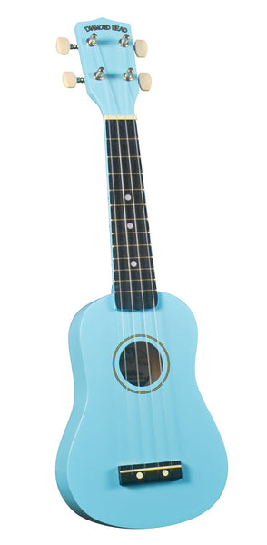 Diamond Head DU-106 Soprano Ukulele. Light Blue