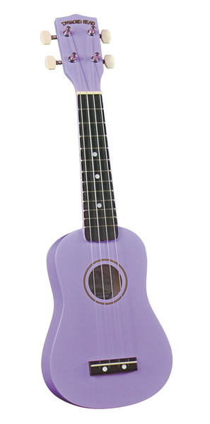 Diamond Head DU-118 Soprano Ukulele. Violet