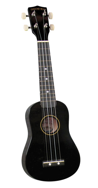 Diamond Head DU-100 Soprano Ukulele. Black