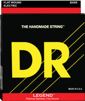 DR Strings FL12 Legend Flatwound Electric Guitar Strings. 12-52