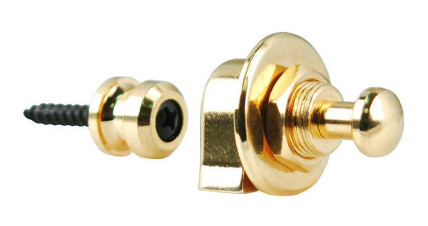 Grover GP800G Quick Release Strap Locks. Gold