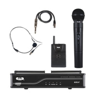 CAD Audio GXLVHBH Wireless and Bodypack Combo System. Band H