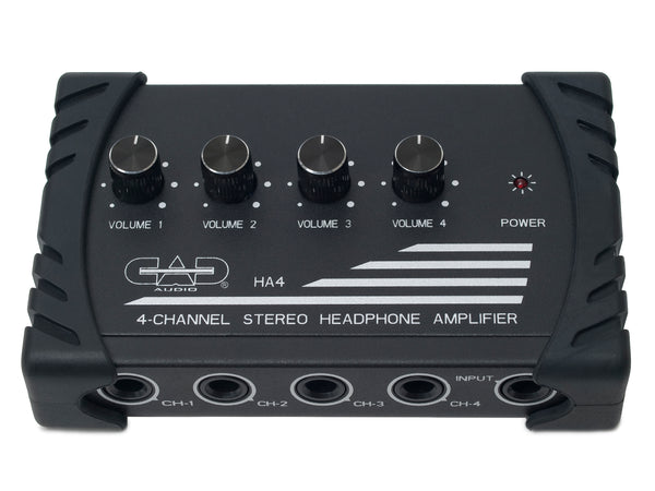 CAD Audio HA4 4-Channel Stereo Headphone Amplifier