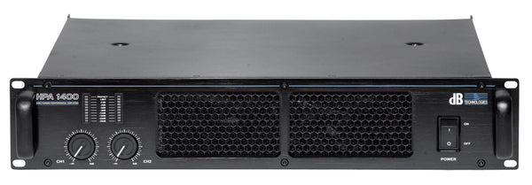 dB Technologies HPA-1400 Class-HD Power Amplifier