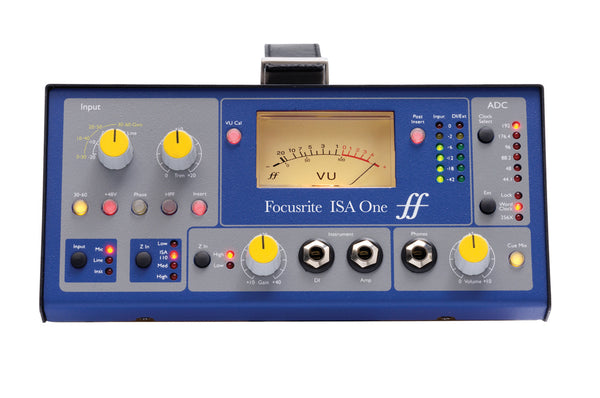 Focusrite ISA-ONE Single Channel Analog Microphone Preamp