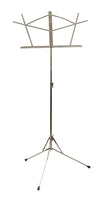 Stageline MS1050N Music Stand. Nickel