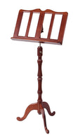 Stageline MS20CH Wood Music Stand. Cherry