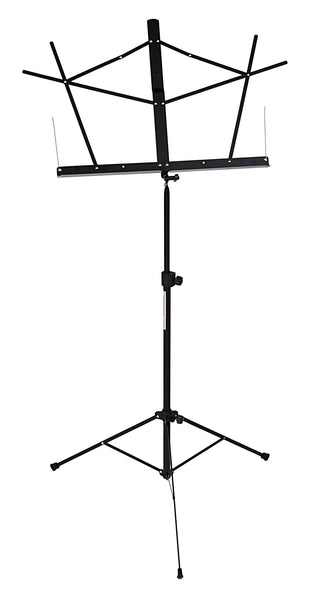 Stageline MS2BKB Music Stand with Bag. Black