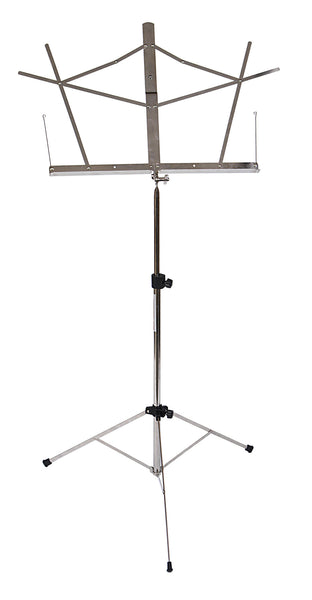 Stageline MS2NB Music Stand with Bag. Nickel