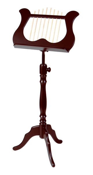 Stageline MS60MA Wood Lyra Music Stand. Mahogany