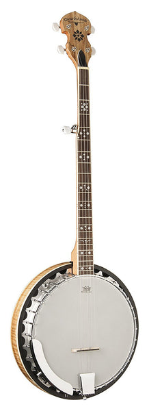 Oscar Schmidt OB5SP-O Bluegrass Banjo. Spalted Maple
