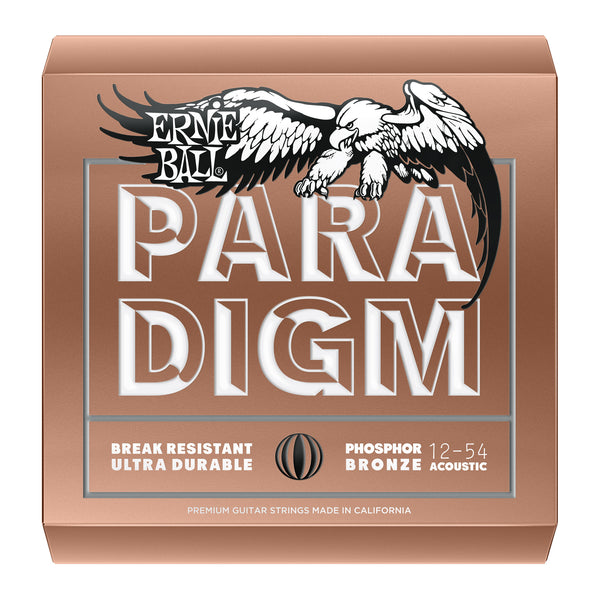 Ernie Ball P02076 Paradigm Medium Light Phosphor Bronze Acoustic Guitar Strings. 12-54