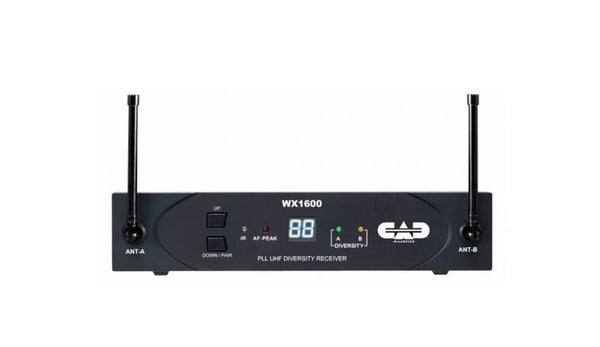 CAD Audio RX1600 Wireless Receiver For WX1600 Series