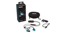Shure SE215SPE-B+BT2 Sound Isolating Earphones. Bluetooth Blue Special Edition