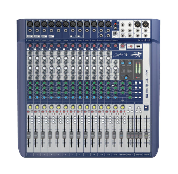 Soundcraft SIGNATURE-16 16 Channel Mixer