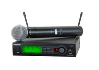 Shure SLX24/BETA58-H5 System With SLX24/BETA58 Handheld Transmitter. Frequency Band Version H5