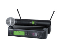 Shure SLX24/SM58-H5 System With SLX2/SM58 Handheld Transmitter. Frequency Band H5 (518-542 MHz)