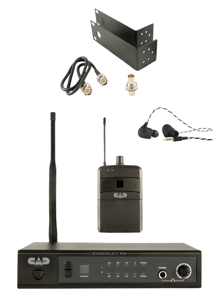 CAD Audio STAGESELECTIEM UHF In Ear Monitor Wireless System. Band N