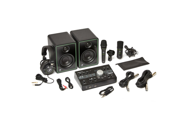 Mackie STUDIO-BUNDLE Studio Monitor, Microphone, Headphone, and Interface/Monitor Controller