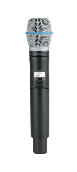 Shure ULXD2/B87A-J50A Digital Handheld Transmitter With Beta 87A Capsule. Frequency Band Version