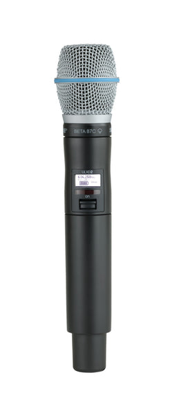 Shure ULXD2/B87C-J50A Digital Handheld Transmitter with Beta 87C Capsule. Frequency Band Version