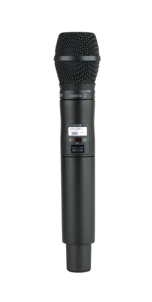 Shure ULXD2/SM87-J50A Digital Handheld Transmitter with SM87 Capsule. Frequency Band Version