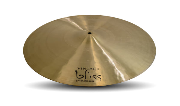 "Dream Cymbals VBCRRI17 Vintage Bliss 17"" Crash/Ride"