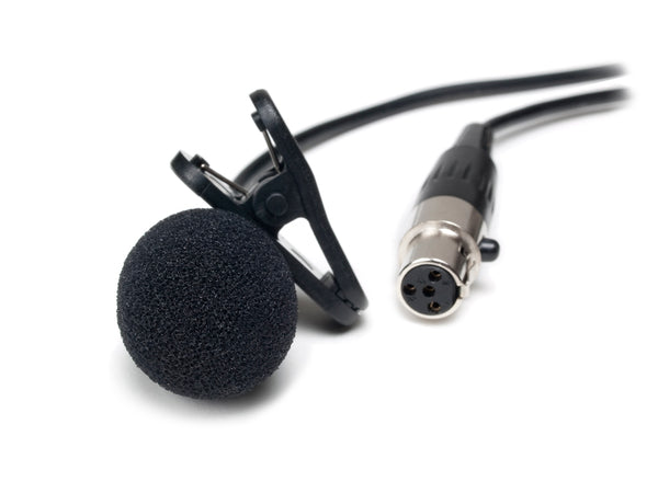 CAD Audio WXLAV Cardioid Condenser Lavalier Microphone w/TA4F Connector