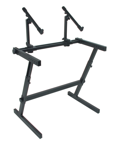 Quik Lok Z-726 Z Frame Keyboard Stand. Double Tier