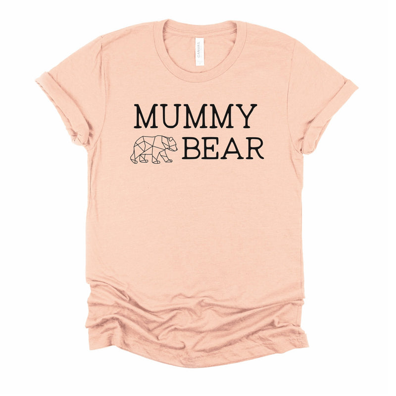 Mummy Bear T Shirt - Little Lili Store