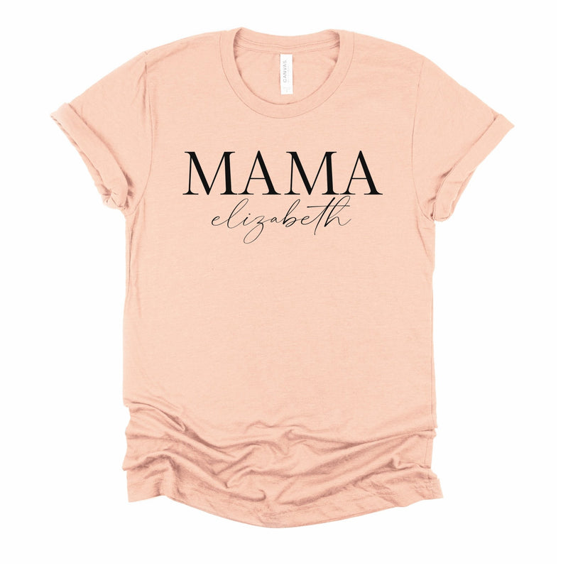 Personalised Mama T Shirt - Little Lili Store