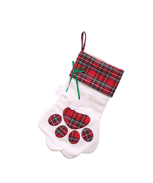 Christmas Creative Candy Cat Claw Socks Children Bag