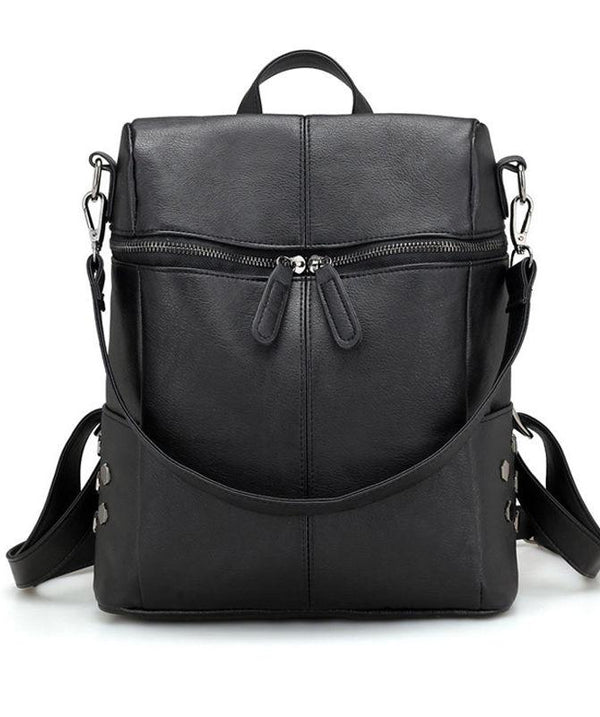 Casual Large Capacity Multifunctional Women Zipper Backpack