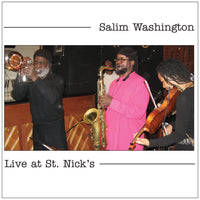 Salim Washington - Live at St. Nick's - CIMPoL 5005